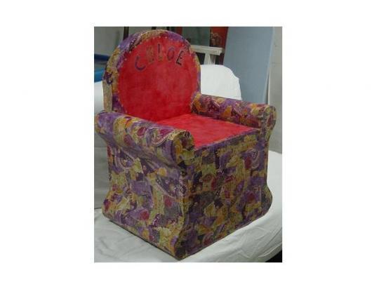 siège rouge